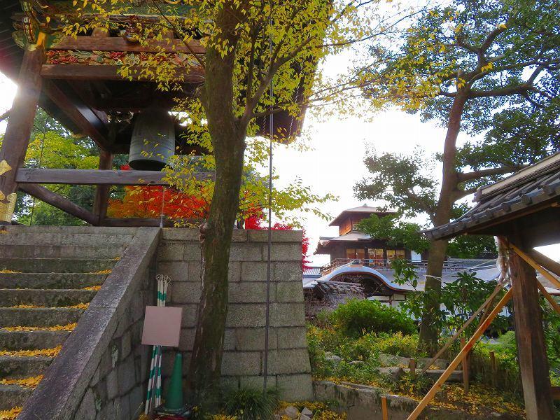 西本願寺「飛雲閣と鐘楼」20191126_e0237645_17074752.jpg
