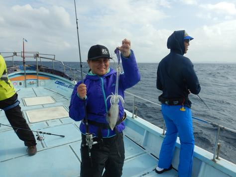 沖縄遠征記2、ドラゴン釣りがアオリイカ釣りに。_f0175450_8113380.jpg