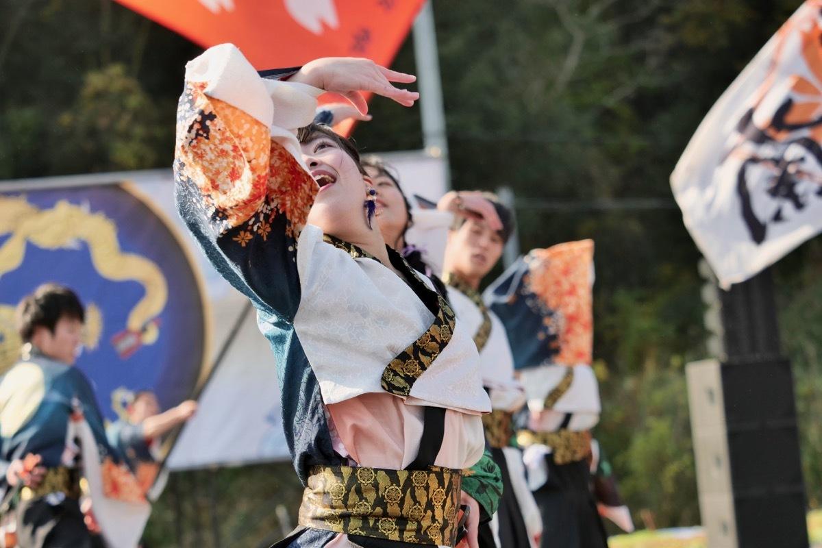 2018日原らっせによさこい祭りその5(よさこい橙蘭その1)_a0009554_23484964.jpg