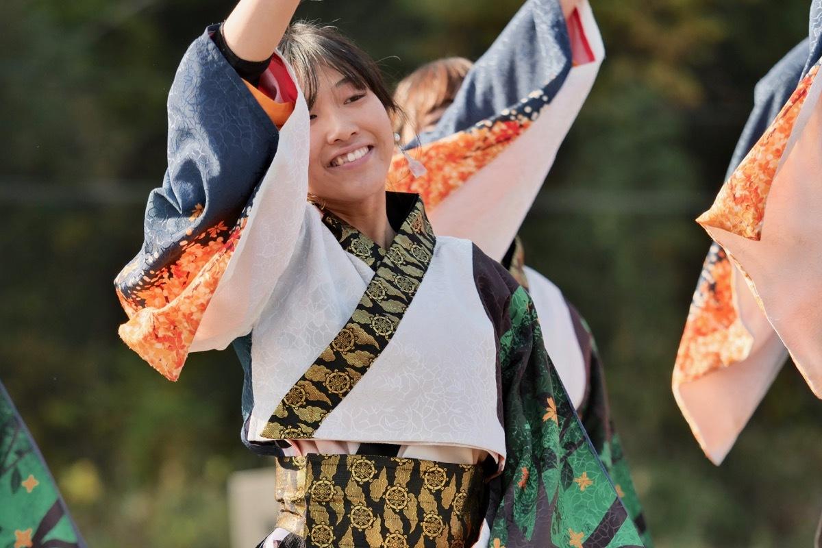 2018日原らっせによさこい祭りその5(よさこい橙蘭その1)_a0009554_23502734.jpg