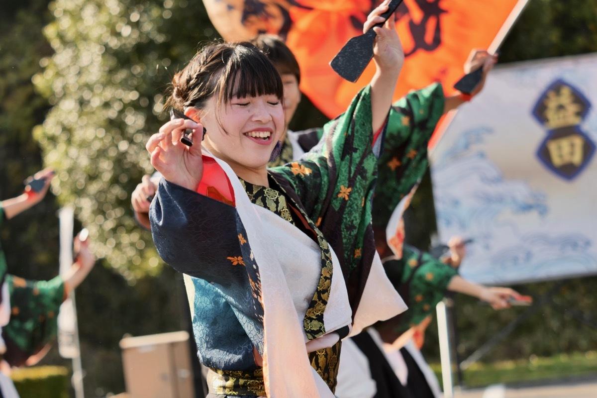 2018日原らっせによさこい祭りその5(よさこい橙蘭その1)_a0009554_23514287.jpg
