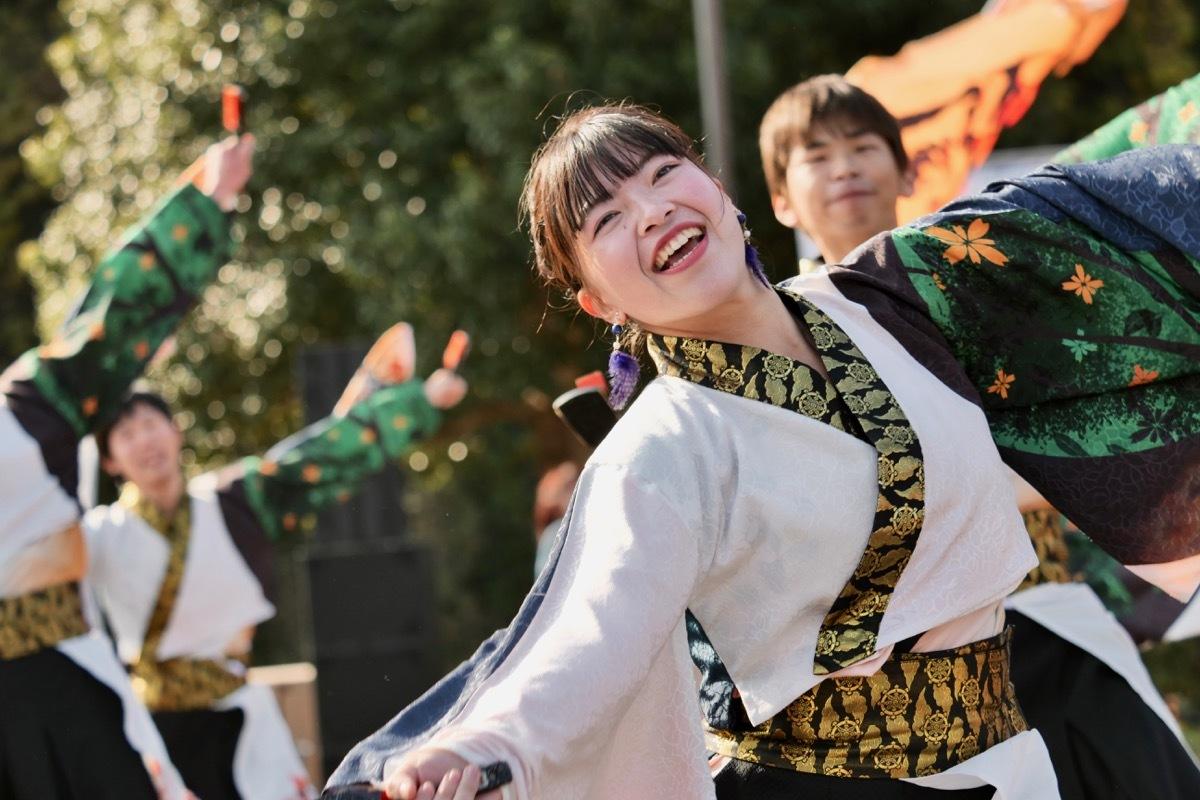 2018日原らっせによさこい祭りその5(よさこい橙蘭その1)_a0009554_23521519.jpg