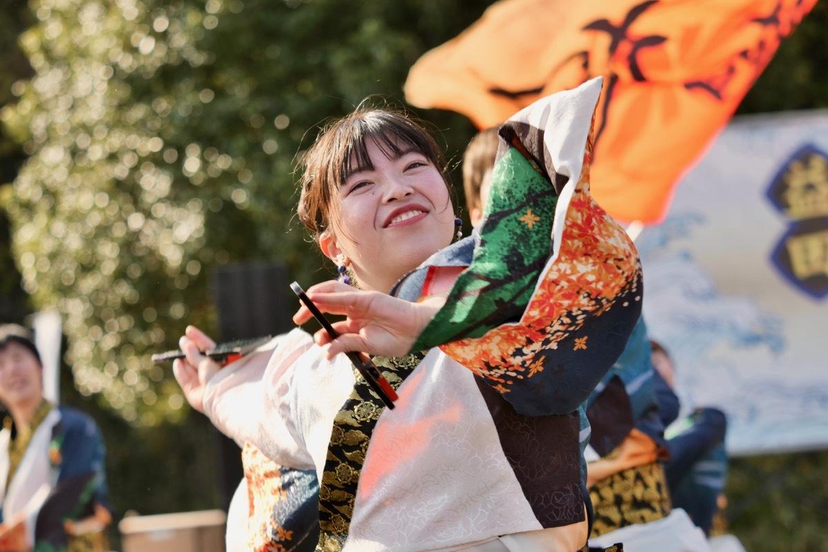 2018日原らっせによさこい祭りその5(よさこい橙蘭その1)_a0009554_23521983.jpg