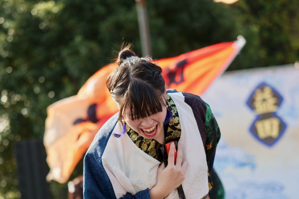 2018日原らっせによさこい祭りその5(よさこい橙蘭その1)_a0009554_23524555.jpg