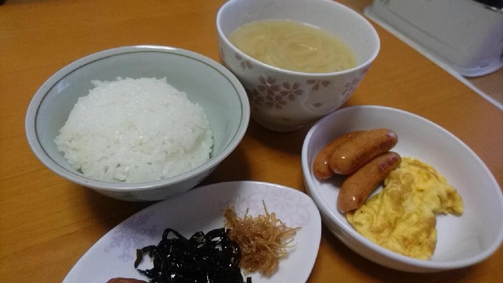 本日の朝食_b0106766_20450552.jpg