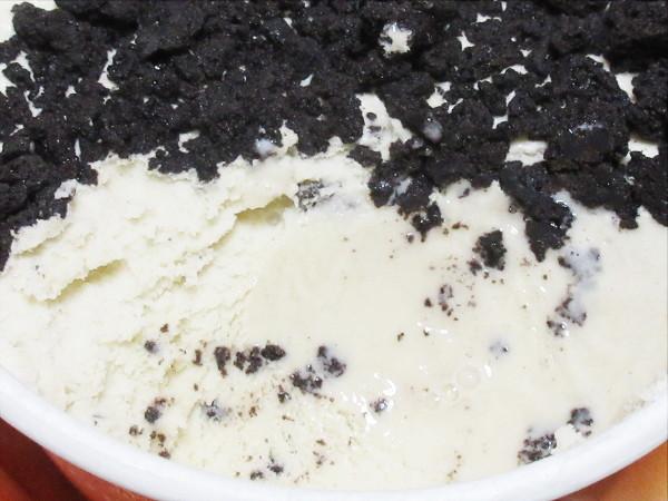牧場しぼり 期間限定 クッキー on クリームチーズ@グリコ_c0152767_20394345.jpg