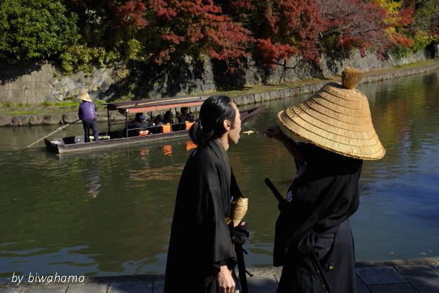 時代劇が似合う町~近江八幡にて_b0055171_12021494.jpg