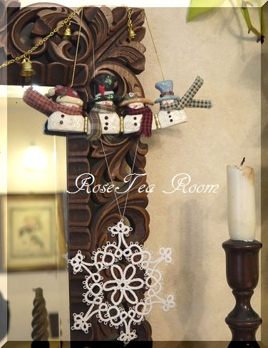 可愛い! タティングレースクリスマスオーナメント~♪_a0159974_753217.jpg