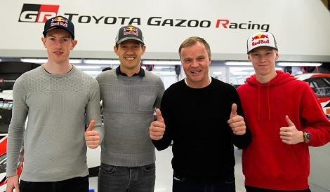 WRC参戦ドライバー決定、全日本総合1回戦終了_d0183174_09023739.jpg