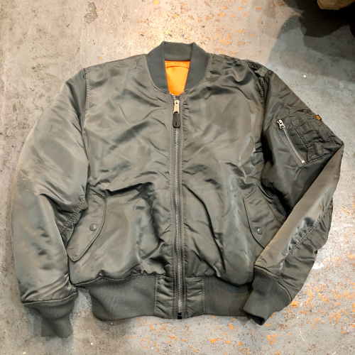 ◇ Alpha  MA-1 & SECURITY POLICE JACKET ◇_c0059778_23520838.jpg