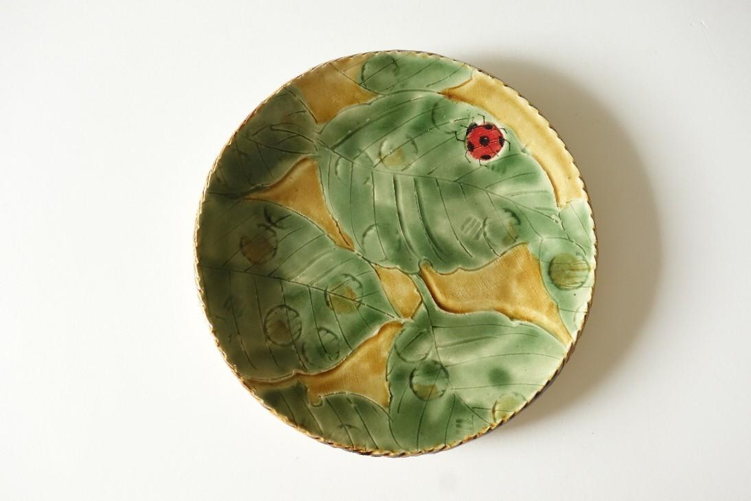 信楽焼のカレー皿🍛..._b0398686_20302976.jpg