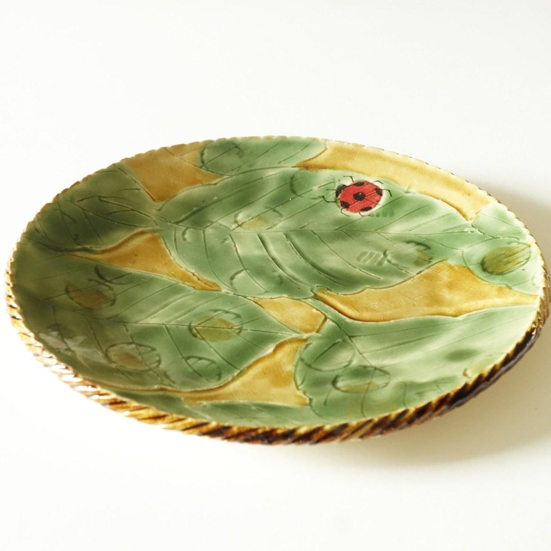 信楽焼のカレー皿🍛..._b0398686_20320860.jpg
