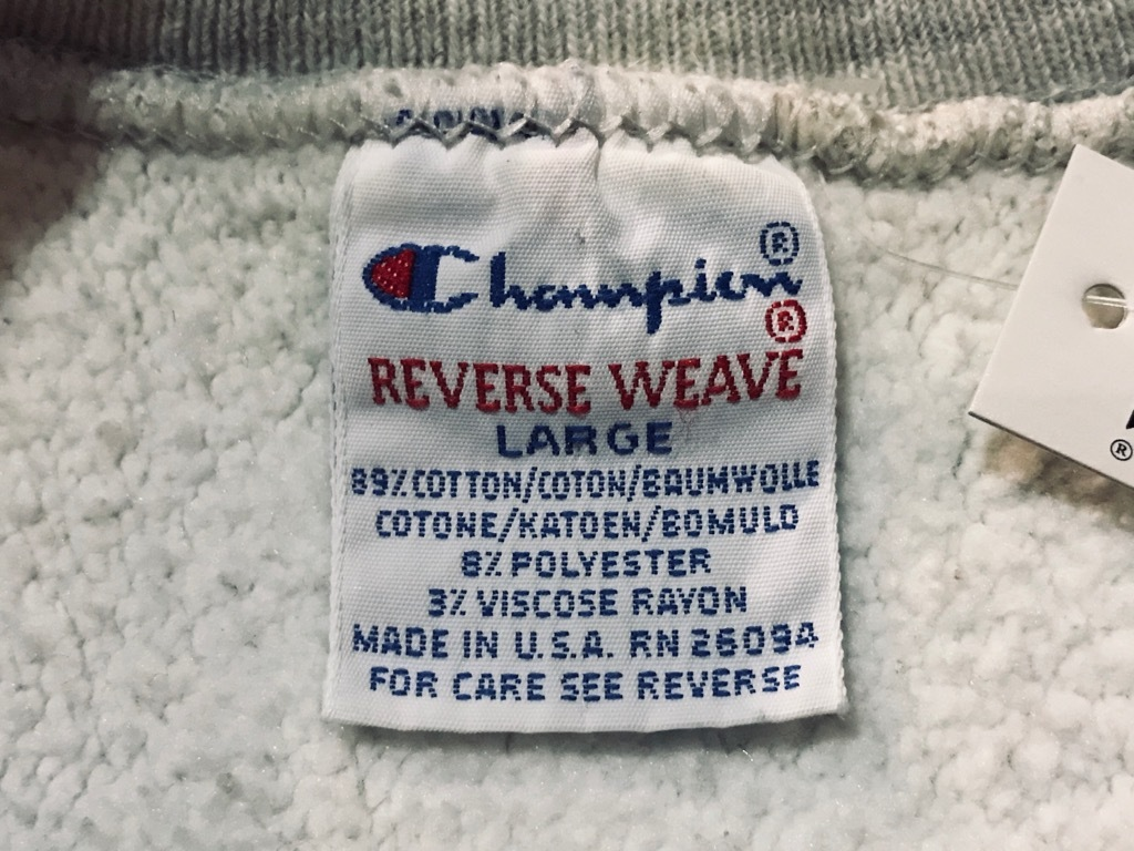 マグネッツ神戸店 11/30(土)Superior入荷! #3 Champion R.W.Sweat Made in U.S.A.!!!_c0078587_15074215.jpg