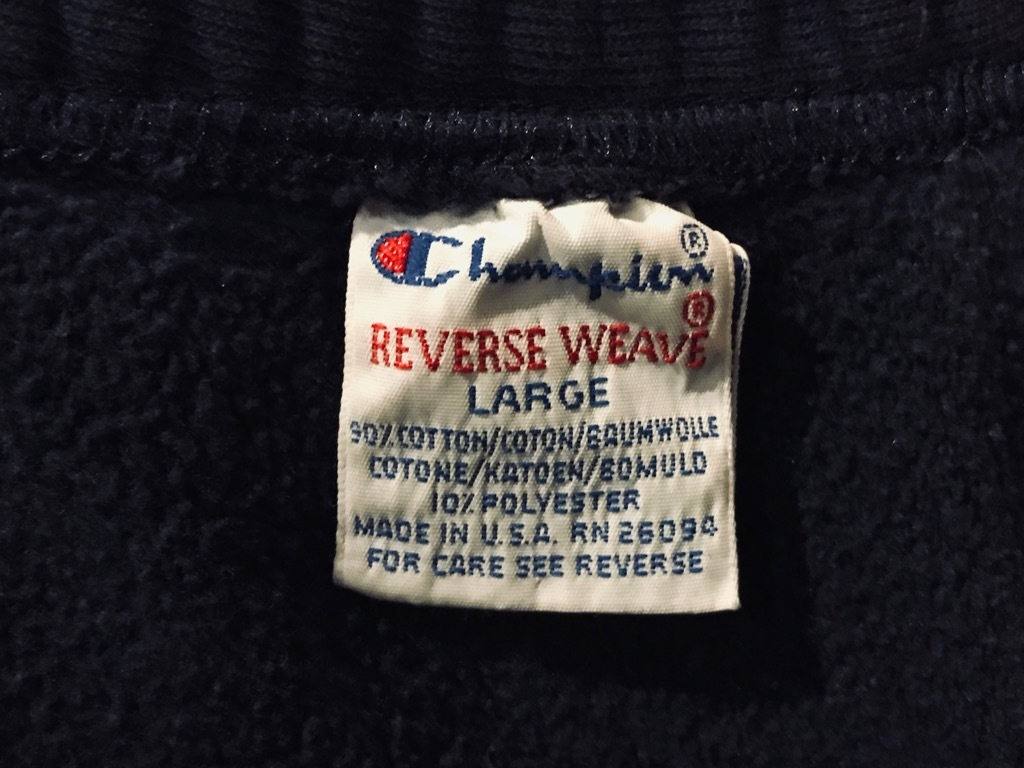 マグネッツ神戸店 11/30(土)Superior入荷! #3 Champion R.W.Sweat Made in U.S.A.!!!_c0078587_15152735.jpg