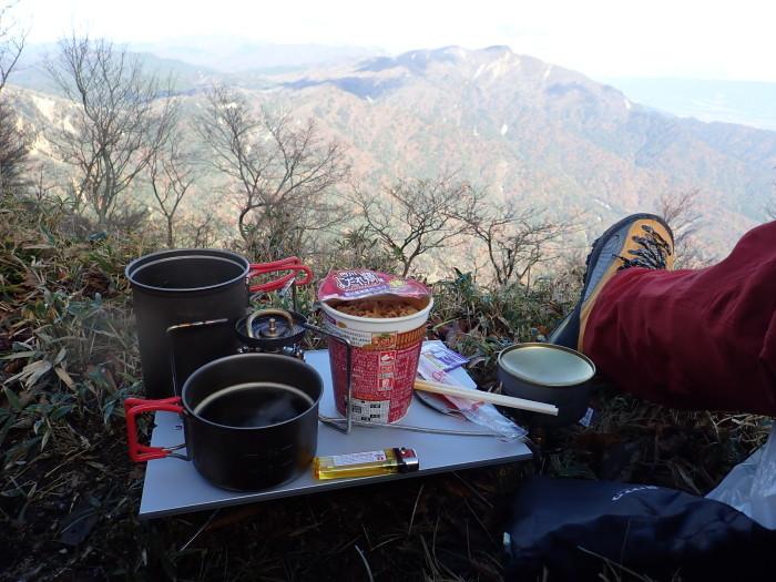 登山(ブナ清水~ハライド)  からの~朝明キャンプ!_a0049296_19185786.jpg