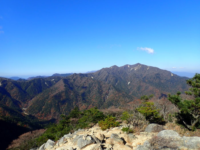登山(ブナ清水~ハライド)  からの~朝明キャンプ!_a0049296_19323719.jpg