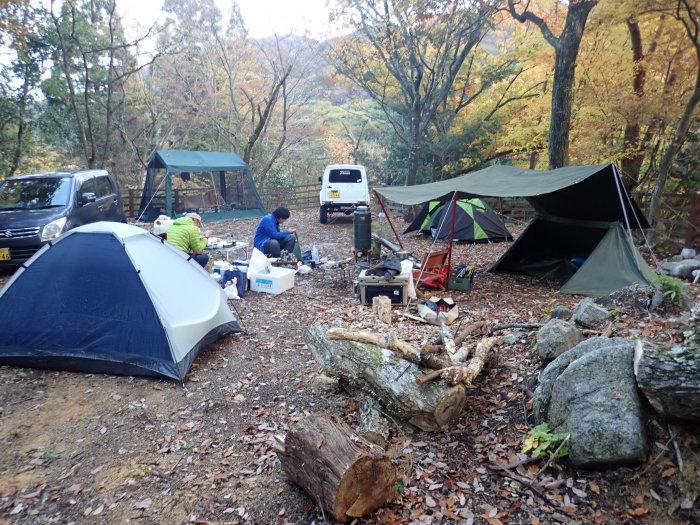登山(ブナ清水~ハライド)  からの~朝明キャンプ!_a0049296_19411061.jpg