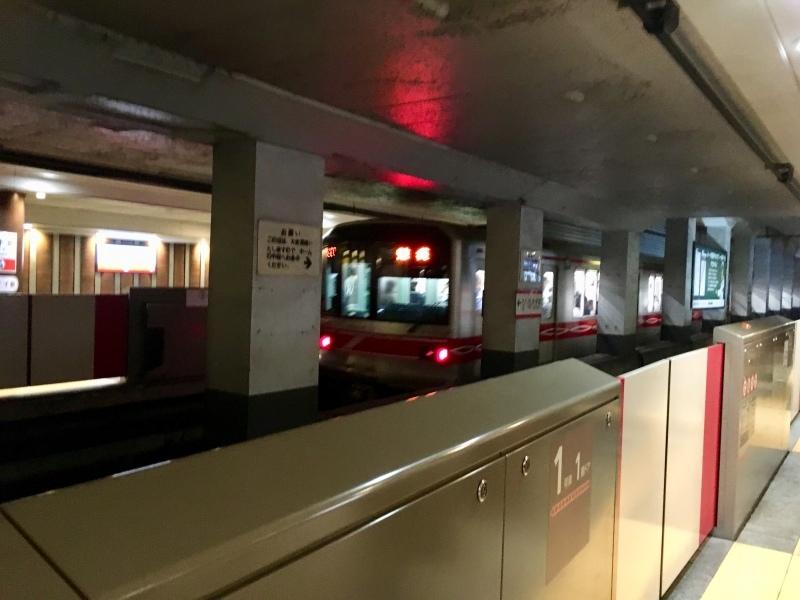 東京メトロ丸ノ内線の新型車両2000系に乗車。_d0367998_10235537.jpeg