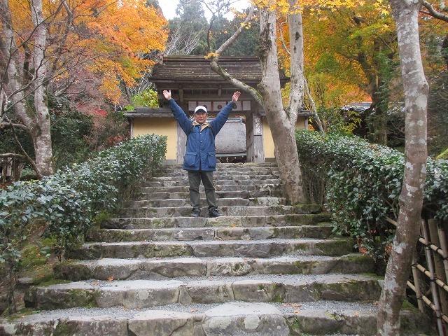京都大原寂光院紅葉_b0163804_10522863.jpg