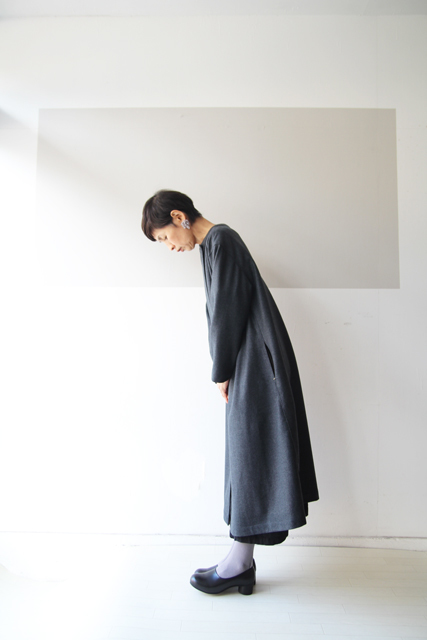ウールの一つ釦コート_f0215708_17353081.jpg