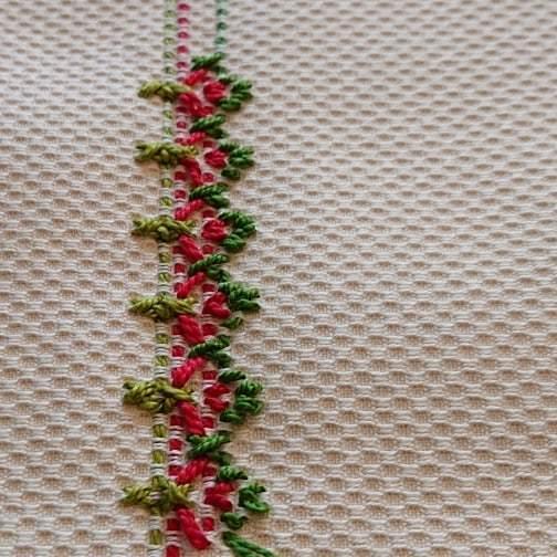 スウェーデン刺しゅう 北欧てしごと教室 12月ワークショップ_f0361510_16571240.jpg