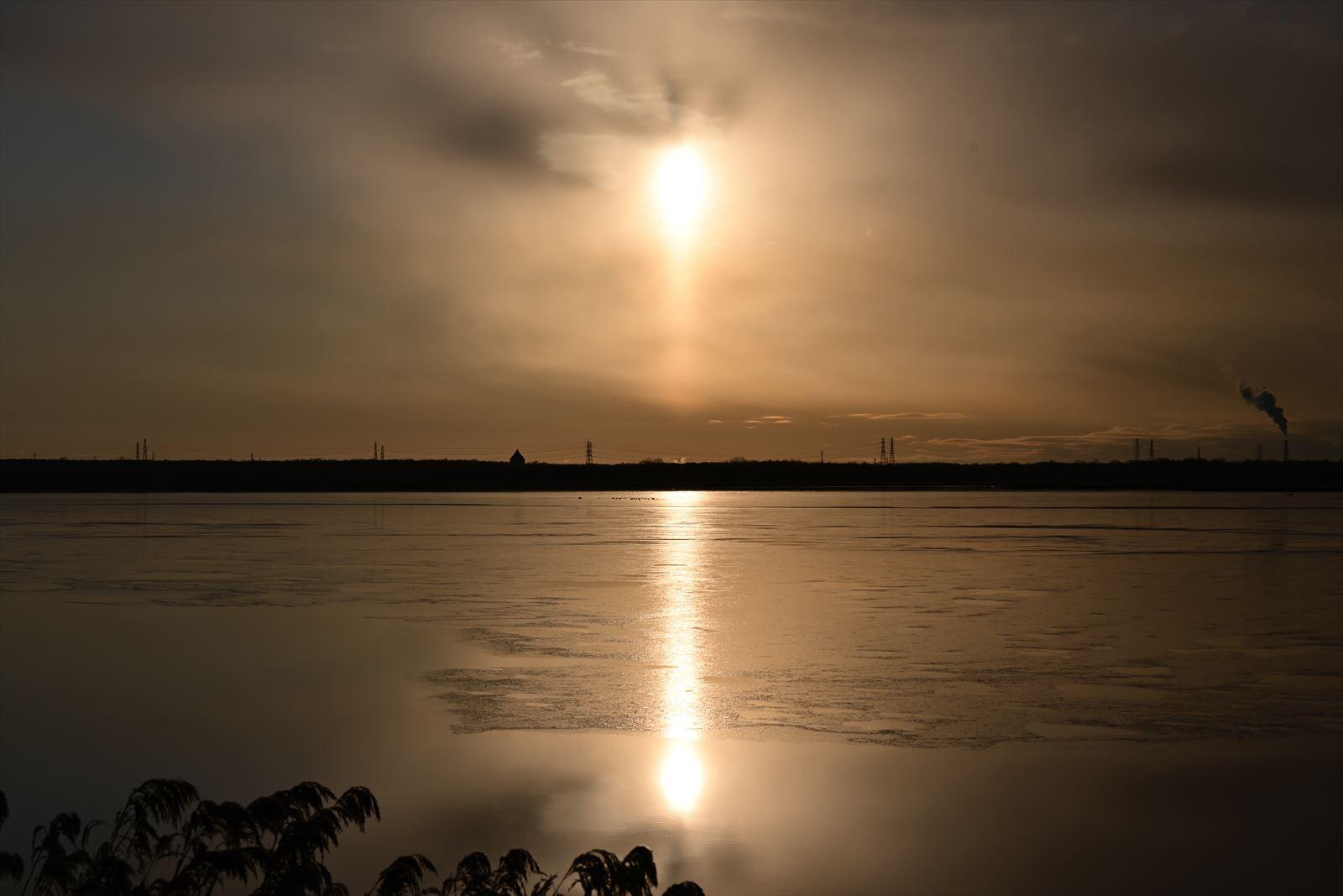 美しきウトナイ湖の夜明け 【 閲覧注意画像あり 】_a0145819_12464541.jpg