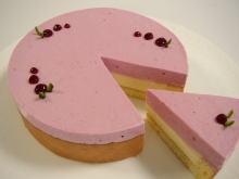 3月のお菓子・ラズベリーとホワイトチョコのムース_a0392423_01082997.jpg