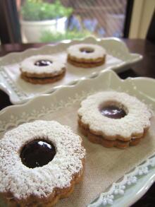 3月のお菓子・ジャムサンドクッキー_a0392423_01083000.jpg