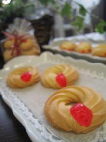 4月のお菓子・絞り出しクッキー_a0392423_01085564.jpg