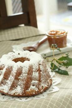 10月のお菓子・キャラメルりんごのバターケーキ_a0392423_01134873.jpg