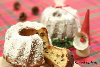 クリスマスのお菓子・クグロフ_a0392423_01564910.jpg