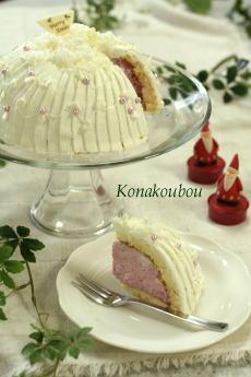 クリスマスのお菓子・ホワイトドリーム_a0392423_01565086.jpg