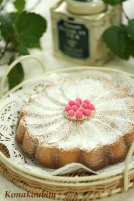 3月のお菓子・アーモンドのバターケーキ_a0392423_01572113.jpg