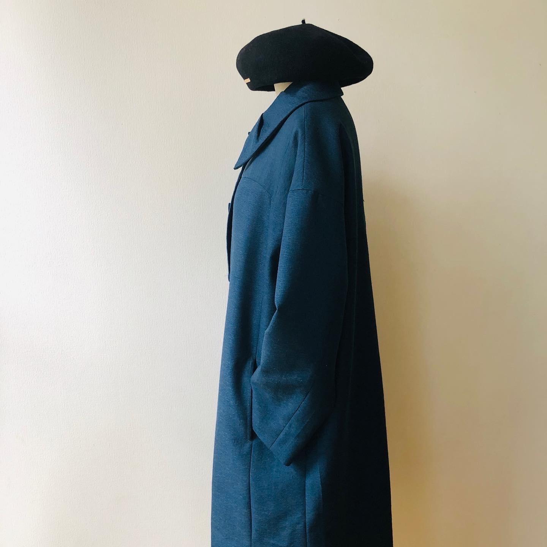 着物着物リメイク・ ウールのお着物から大きな襟コート_d0127925_16474927.jpg
