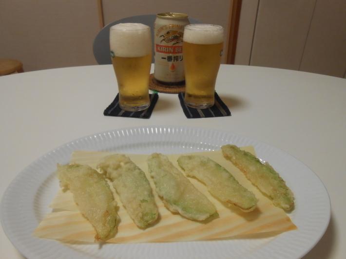 ハヤトウリは天ぷらも美味しい!_a0095931_08503027.jpg