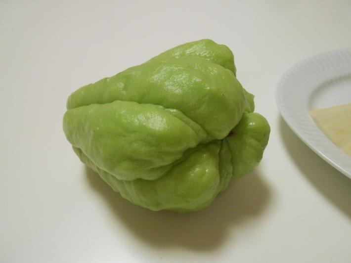 ハヤトウリは天ぷらも美味しい!_a0095931_08510869.jpg