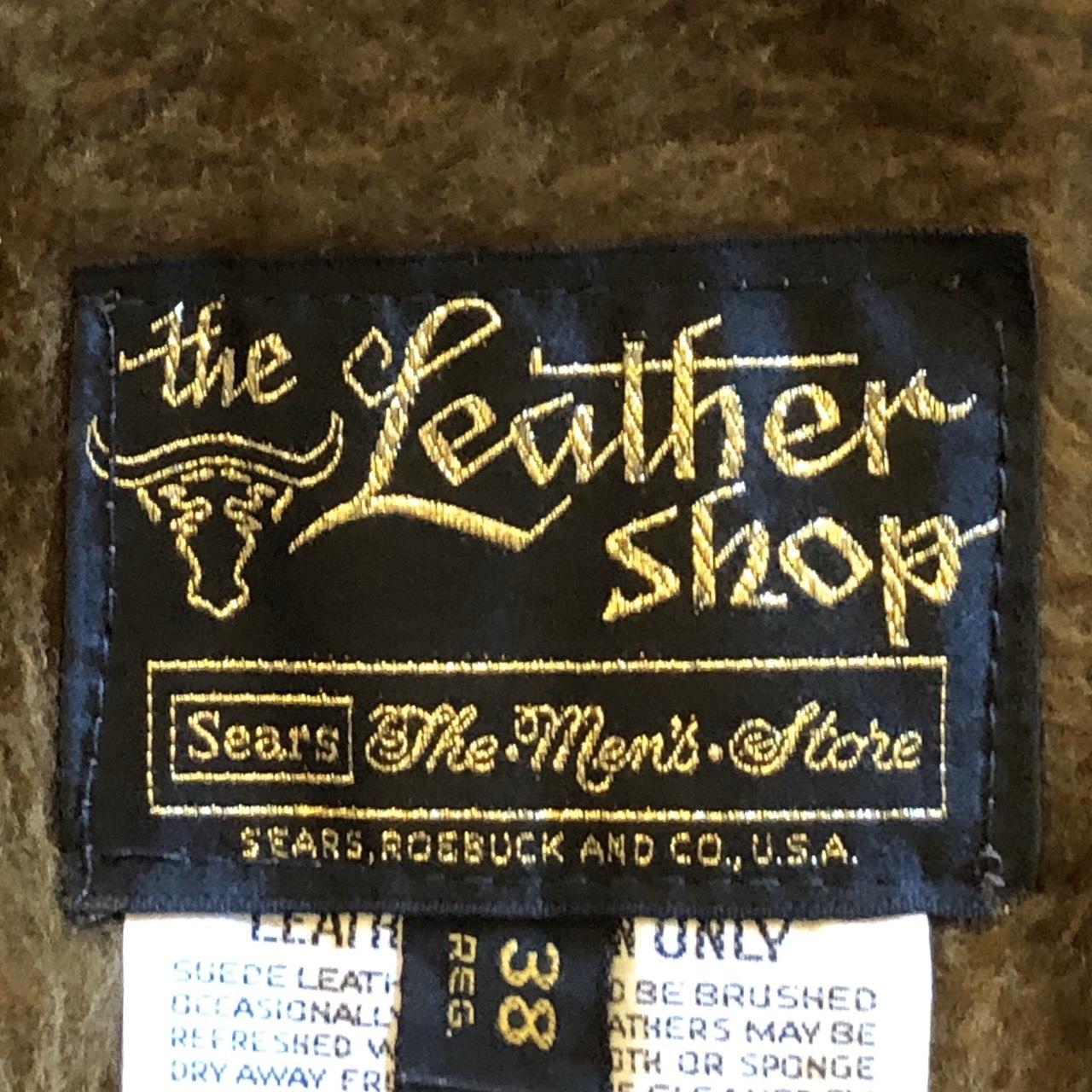 70\'s Sears レザージャケット_c0355834_18143675.jpg