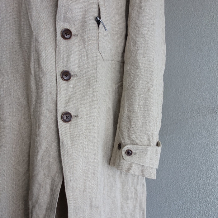 2月の製作 / anotherline heavylinen coat_e0130546_16255407.jpg