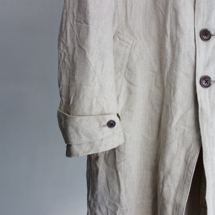 2月の製作 / anotherline heavylinen coat_e0130546_16261025.jpg