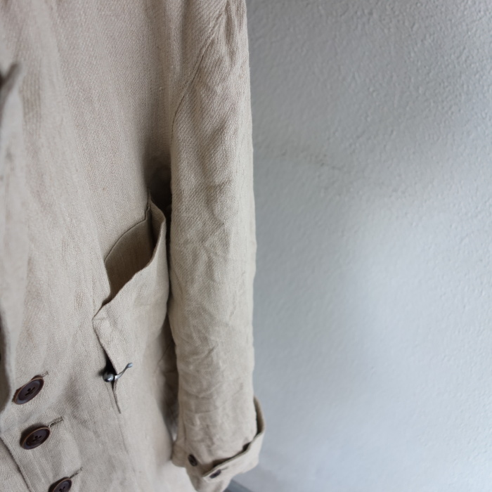 2月の製作 / anotherline heavylinen coat_e0130546_16264021.jpg