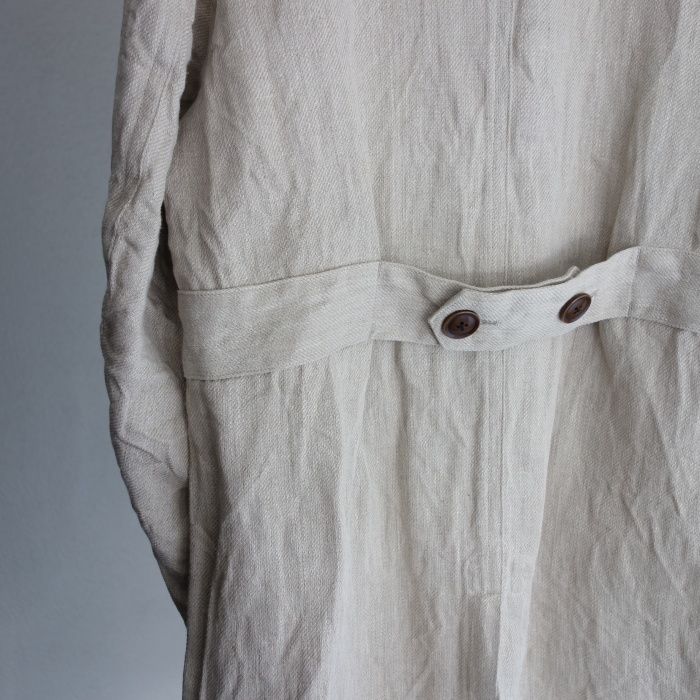 2月の製作 / anotherline heavylinen coat_e0130546_16274814.jpg