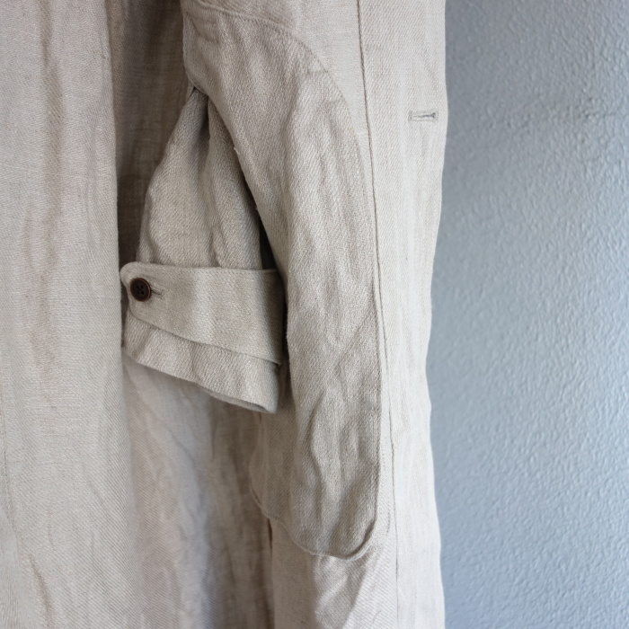 2月の製作 / anotherline heavylinen coat_e0130546_16282505.jpg