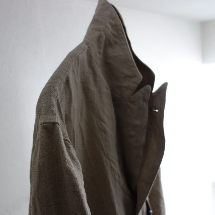 2月の製作 / anotherline heavylinen coat_e0130546_16285464.jpg