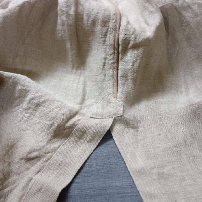 2月の製作 / anotherline heavylinen coat_e0130546_16312662.jpg