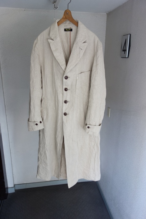 2月の製作 / anotherline heavylinen coat_e0130546_16320498.jpg