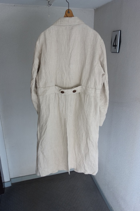 2月の製作 / anotherline heavylinen coat_e0130546_16321372.jpg