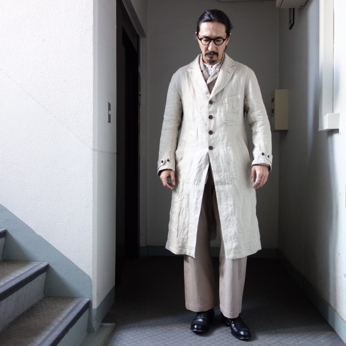 2月の製作 / anotherline heavylinen coat_e0130546_16333312.jpg