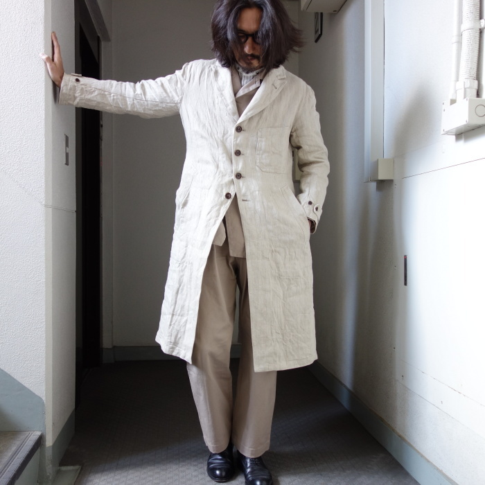 2月の製作 / anotherline heavylinen coat_e0130546_16351667.jpg
