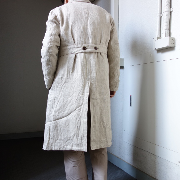 2月の製作 / anotherline heavylinen coat_e0130546_16354516.jpg