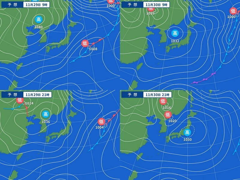 新潟県降雪量予報(2019年11月29日AM/PM)  追記あり_e0037849_08112311.jpg